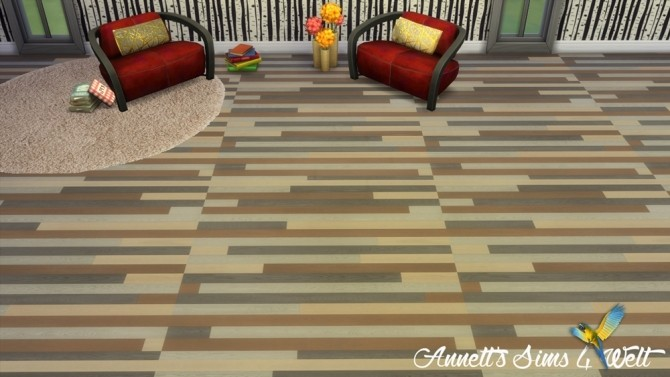 Sims 4 Colorful Wood Floors at Annett's Sims 4 Welt