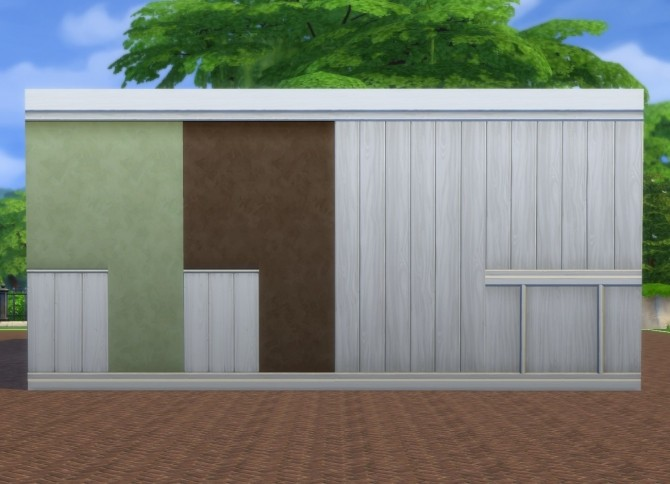 White Paneling + Paint Walls by plasticbox at Mod The Sims image 8519 670x484 Sims 4 Updates