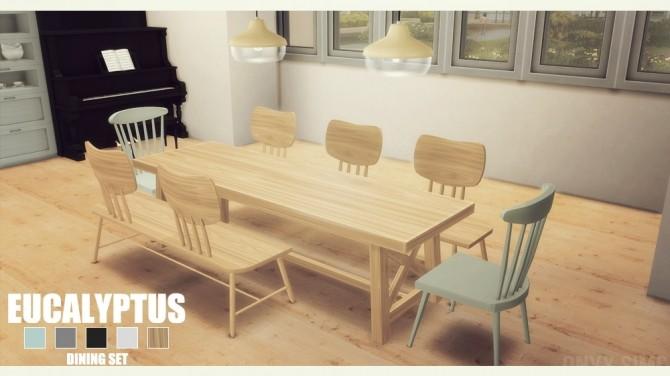 Eucalyptus Diningroom By Kiara Rawks At Onyx Sims