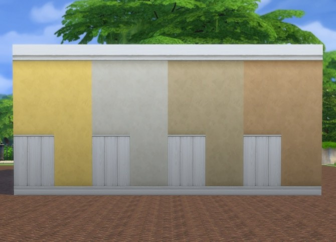 White Paneling + Paint Walls by plasticbox at Mod The Sims image 8619 670x484 Sims 4 Updates