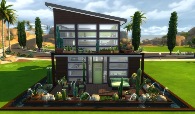 Sims 4 The Cantilatrix house by Alrunia at Mod The Sims