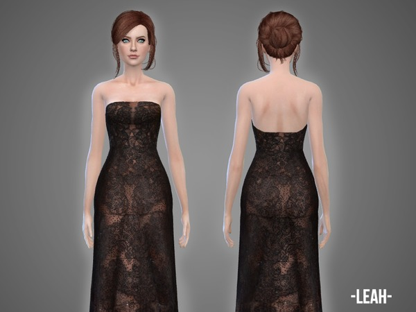 Leah gown by April at TSR image 890 Sims 4 Updates