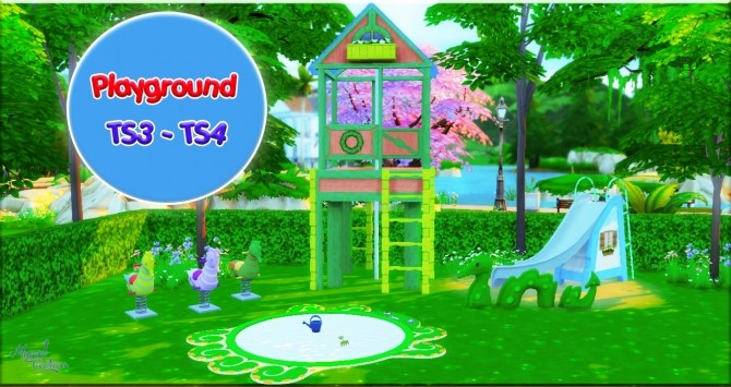 Playground at Victor Miguel image 899 670x355 Sims 4 Updates
