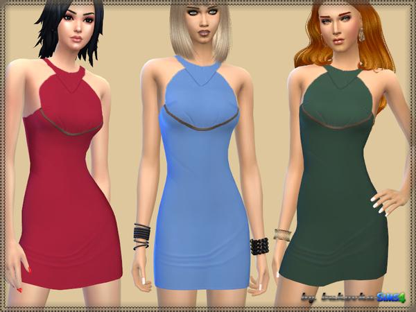 Sims 4 Dress Gianni by bukovka at TSR