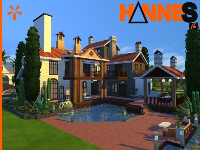 Sims 4 Su Casa Mi Casa by Hannes16 at Mod The Sims