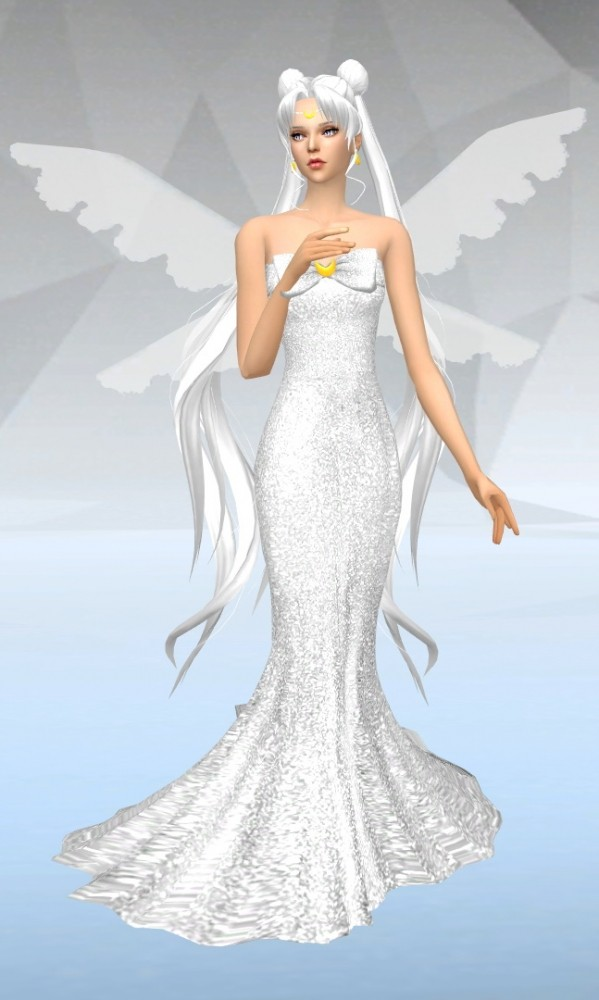 Queen Selene at SilverMoon Sims » Sims 4 Updates
