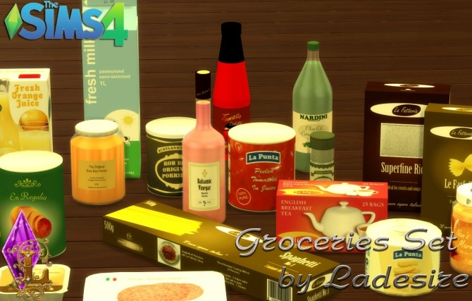 Groceries Set at Ladesire image 966 670x427 Sims 4 Updates