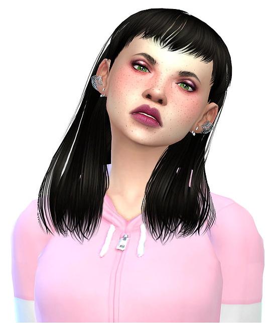 Sims 4 Delilah at Niriidaniriis – Fashiontale Sims4