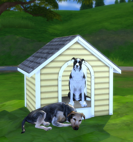 2 To 4 Dog House By Biguglyhag At Tsr 187 Sims 4 Updates