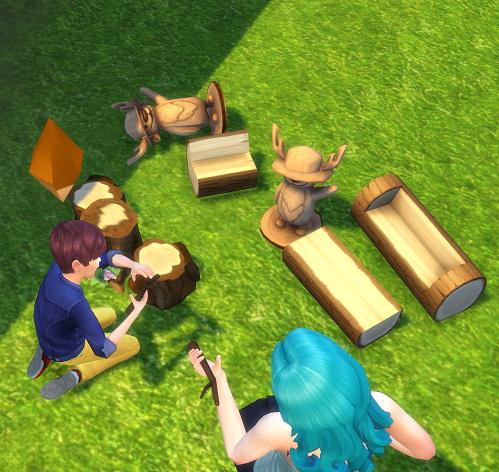 Woodland Playset (Dollhouse) by BigUglyHag at SimsWorkshop image 9717 Sims 4 Updates