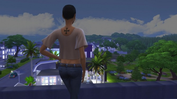 Assassin S Creed Back Tattoos By Knivanera At Mod The Sims