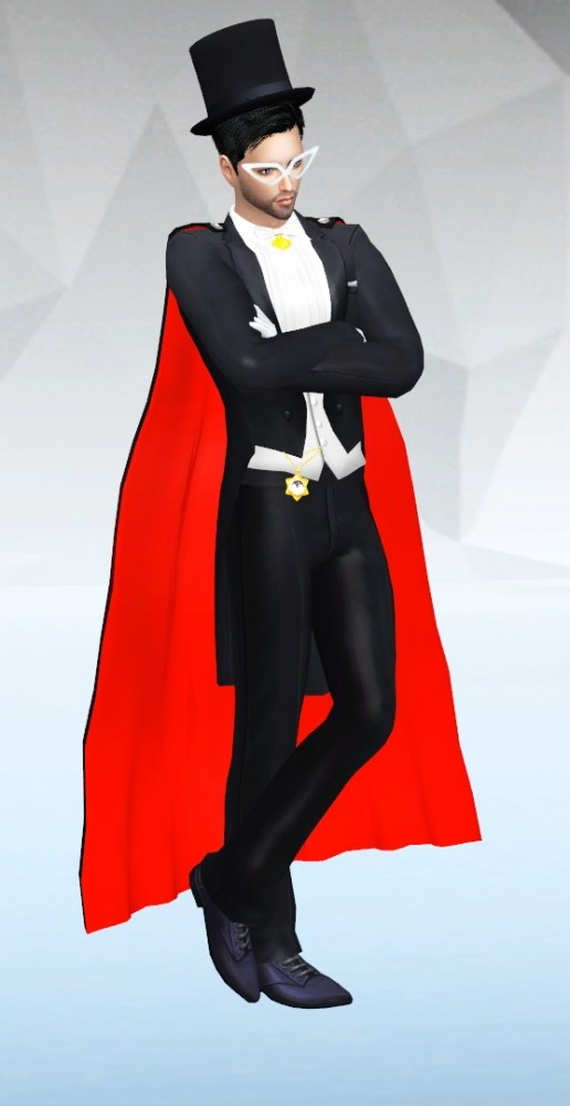 Tuxedo Mask Amp King Endymion At Silvermoon Sims 187 Sims 4