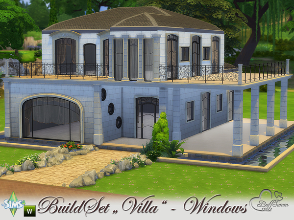 Build A Villa Windows and Doors by BuffSumm at TSR image 10 Sims 4 Updates
