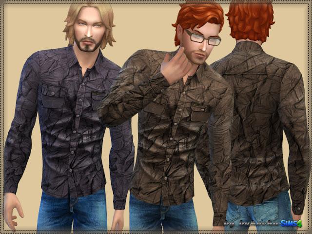 Sims 4 Shirt Wrinkled at Bukovka