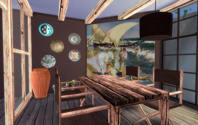 Ibiza diningroom at pqSims4 image 1011 Sims 4 Updates