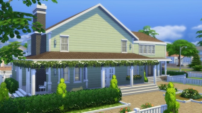 4355 Wisteria Lane house by CarlDillynson at Mod The Sims image 10110 670x377 Sims 4 Updates