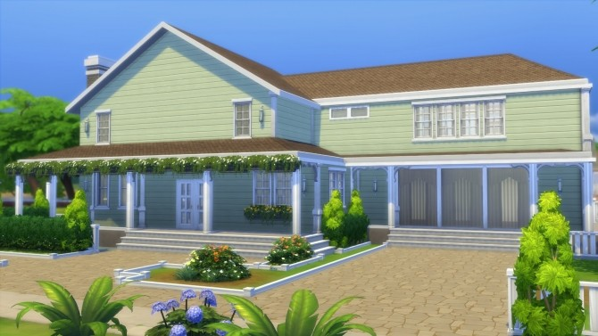 4355 Wisteria Lane house by CarlDillynson at Mod The Sims image 1026 670x377 Sims 4 Updates