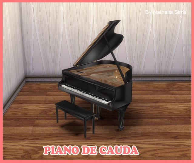 Grand Piano At Nathalia Sims 187 Sims 4 Updates