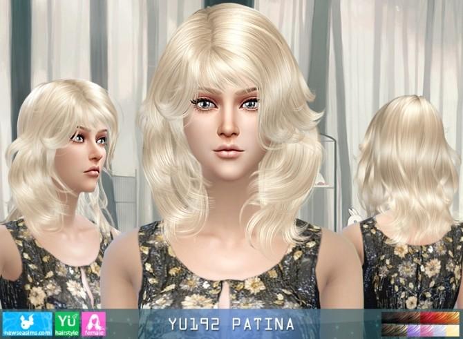 Sims 4 YU192 Patina hair (Pay) at Newsea Sims 4