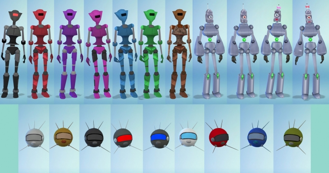 Sims 4 robots downloads » Sims 4 Updates