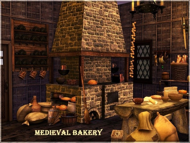Medieval Bakery By Kiolometro At Sims Studio 187 Sims 4 Updates