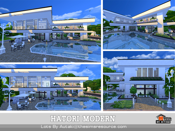 Hatori Modern by autaki at TSR image 11102 Sims 4 Updates