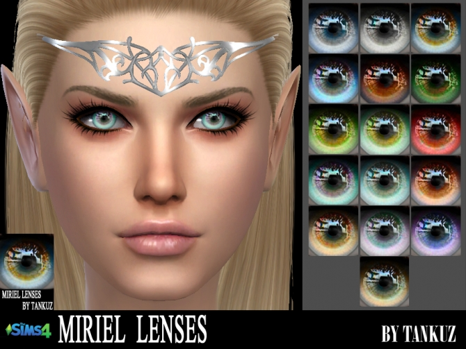 Miriel Lenses at Tankuz Sims4 » Sims 4 Updates