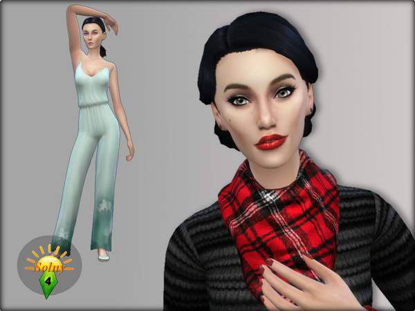 Sims 4 Eve V.01 by Solny at TSR
