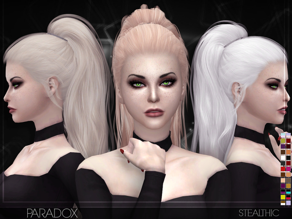 Hairstyles Updates: Paradox Female Hair By Stealthic At TSR » Sims 4 Updates
