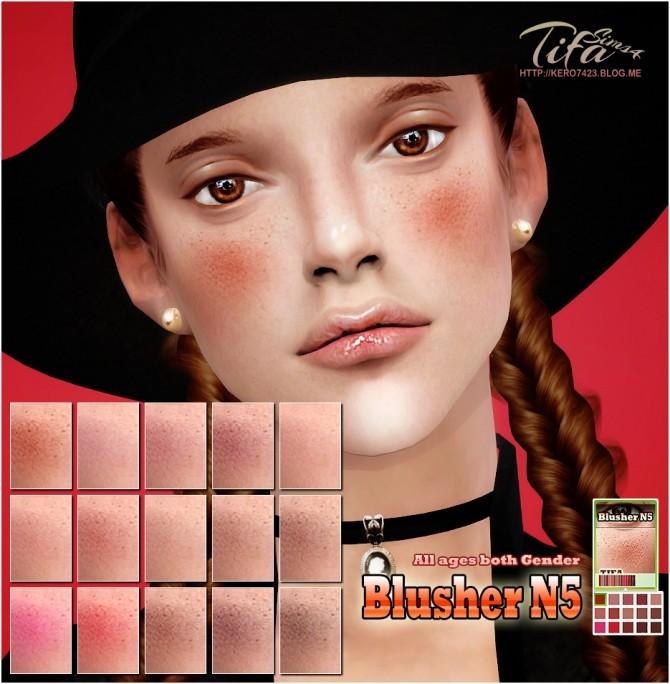 Sims 4 Blusher N5 at Tifa Sims