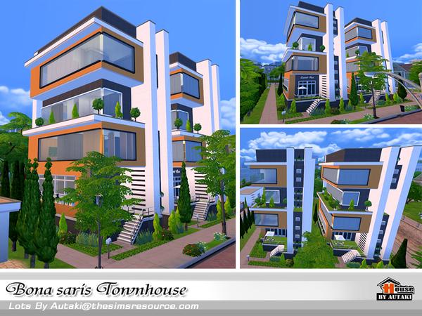 Bona saris luxury modern townhouse by Autaki at TSR image 1230 Sims 4 Updates