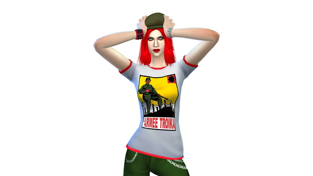 Sims 4 Damzel Shirt by JuliAta at Sims 3 Game