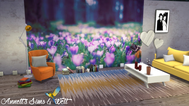 Sims 4 Spring wallpapers at Annett's Sims 4 Welt