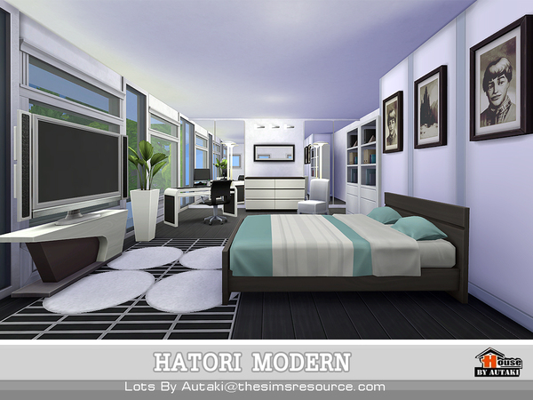 Hatori Modern by autaki at TSR image 1290 Sims 4 Updates