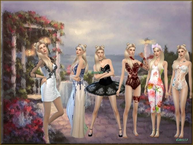 Sims 4 Nicole Marie by Cedric13 at L'univers de Nicole