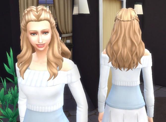 Sims 4 Creative Braids at My Stuff