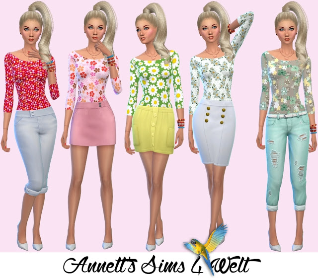 Sims 4 Body & Accessory Body Spring at Annett's Sims 4 Welt