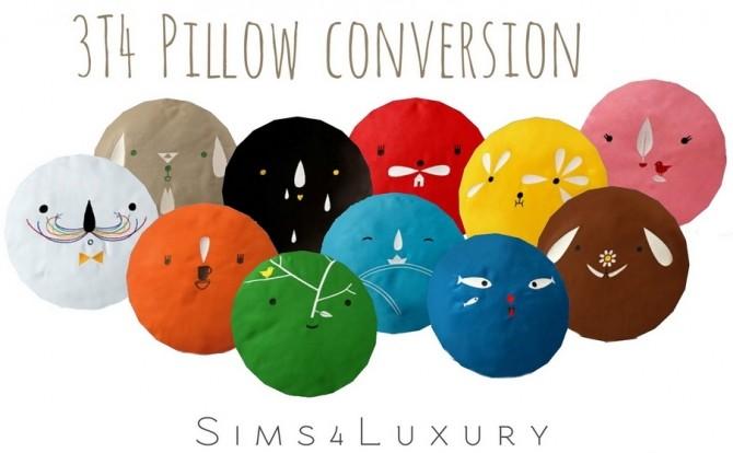 Sims 4 Almofadas pillow conversion at Sims4 Luxury