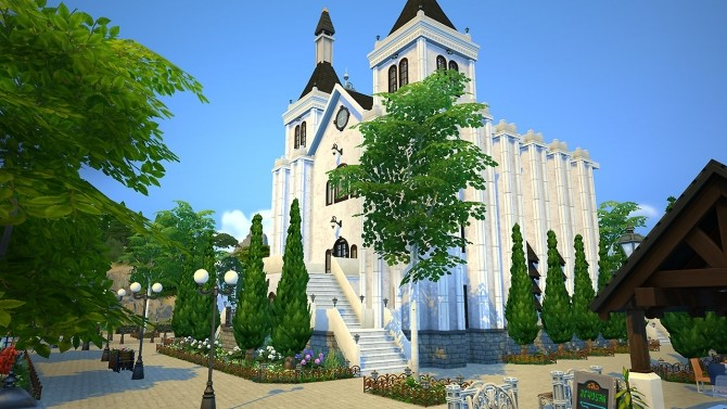 Saint Lama Cathedral at Fezet's Corporation image 13415 670x377 Sims 4 Updates