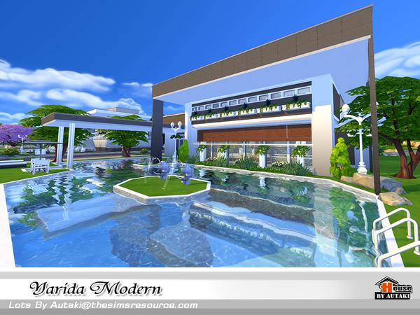Yarida Modern house by autaki at TSR image 1350 Sims 4 Updates