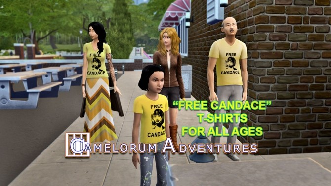 Camelorum Adventures T Shirts by BulldozerIvan at Mod The Sims image 13611 670x377 Sims 4 Updates