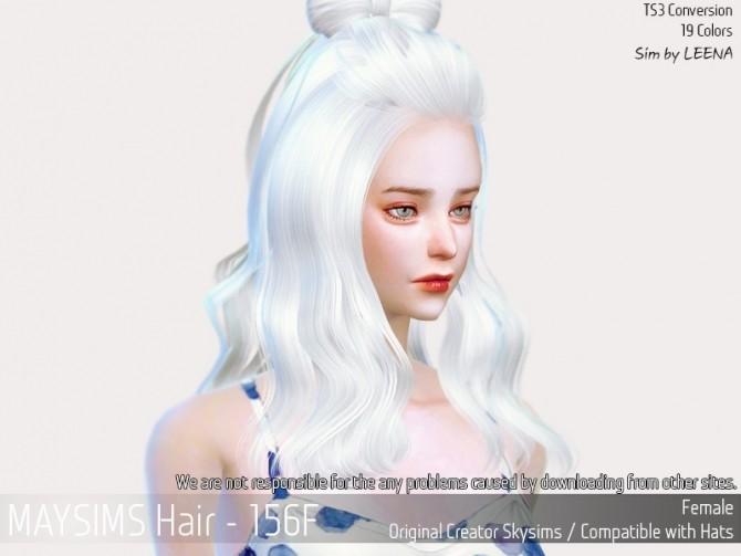 Sims 4 Hair 156F (SkySims) at May Sims