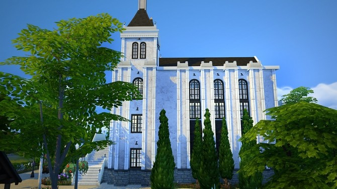 Sims 4 Saint Lama Cathedral at Fezet's Corporation