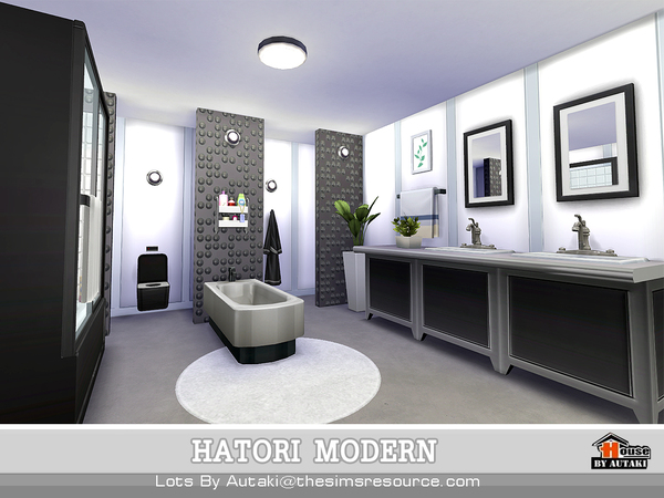 Hatori Modern by autaki at TSR image 1380 Sims 4 Updates