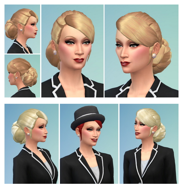 Deep in Neck Hair withBangs at Birksches Sims Blog image 13812 Sims 4 Updates