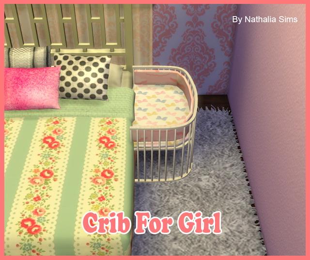 Crib for Boy and Girl at Nathalia Sims image 1407 Sims 4 Updates