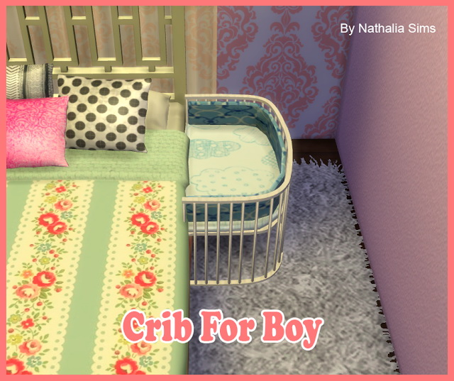 Crib For Boy And Girl At Nathalia Sims 187 Sims 4 Updates