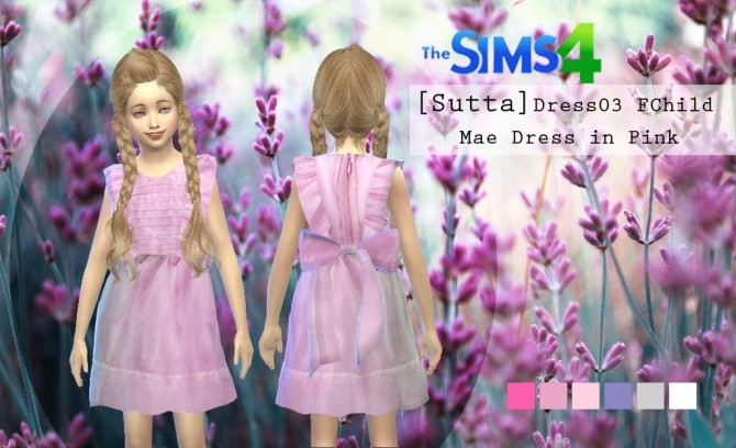 Sims 4 Dress Child at Sutta Sims4