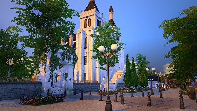 Saint Lama Cathedral at Fezet's Corporation image 14120 670x377 Sims 4 Updates