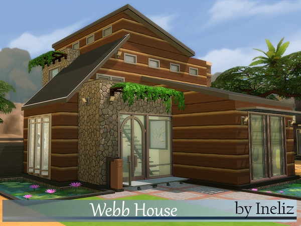 Sims 4 Webb House by Ineliz at TSR